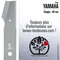 Lame tondeuse. Coupe 49 cm. Yamaha