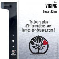 Lame tondeuse. Coupe 52 cm. Viking