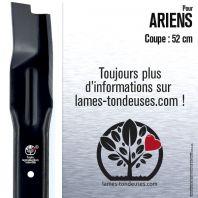 Lame pour Ariens  11370, 11285, 01137000, 01137057, 01128500, 01137059. Coupe 52 cm