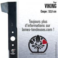 Lame tondeuse. Coupe 52,8 cm. Viking
