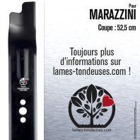 Lame tondeuse. Coupe 52,5 cm. Marazzini