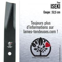 Lame Pour Iseki 8654.306.001.00. Coupe 52,5 cm