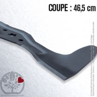 Lame tondeuse. Coupe 46,5 cm. AYP