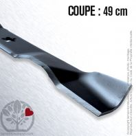 Lame tondeuse. Coupe 49 cm. AYP