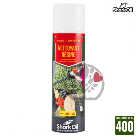 Nettoyant résine Shark Oil Shark Oil. 400 ml