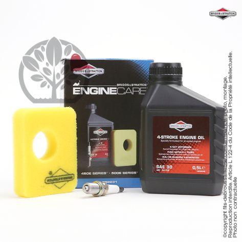 Kit origine d'entretien moteur Briggs et Stratton 450E series et 500E series