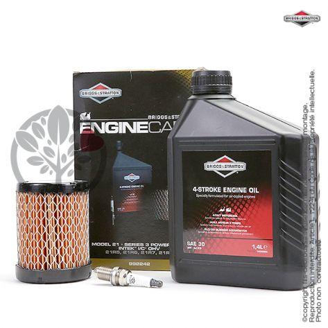 Kit origine d'entretien moteur Briggs et Stratton modèles 21, 21R5, 21R6, 21R7, 21R8, et séries 3 powerbuilt intek I/C OHV