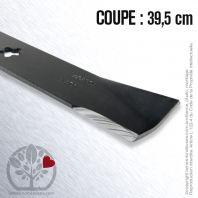 Lame pour Roper 157033, 152443. Coupe 39,5 cm