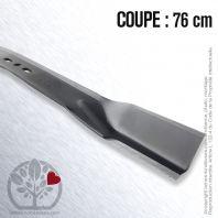 Lame pour AMF 32575, 314275. Stiga 1133067201. Coupe 76 cm
