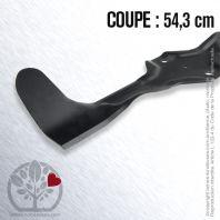 Lame tondeuse husqvarna, Electrolux, Roper 532 18 04-25. Coupe 54.3