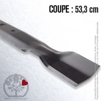 Lame pour John Deere GX20249. Coupe 53,3 cm