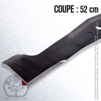 Lame pour Axxom 505900031. Viking 61247020106. Coupe 52 cm