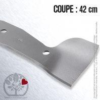 Lame pour Flymo, Husqvarna, Electrolux 5117183-00/3. Coupe 42 cm