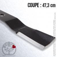 Lame Pour Iseki 8657.306.003.00. Coupe 47,3 cm