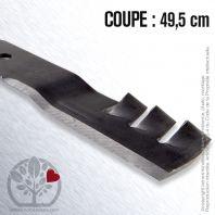 Lame pour John Deere M112991. Coupe 49,5 cm