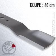 Lame. Coupe 46 cm. Section 55 x 4. Alèsage 16 .