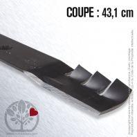 Lame pour John Deere GX21784. Coupe 43,1 cm