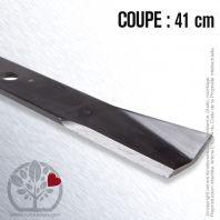 Lame pour John Deere  AM31100,M41967. Coupe 41 cm