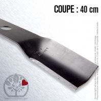Lame tondeuse. Coupe 40 cm. Murray