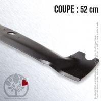 Lame pour Etesia MZ100G. MV100G . A24935A . Coupe 52 cm