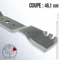Lame pour Husqvarna, Electrolux 138496. Coupe 46,1 cm