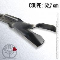 Lame tondeuse. Coupe 52,7 cm. Snapper