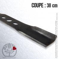 Lame pour Alko 313903, 336770. Coupe : 38 cm