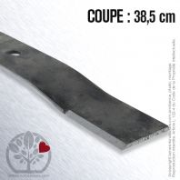 Lame pour Flymo 513 02 25-70/8.  513 02 25 71/6. 5130222-57/0. Coupe 38,5 cm