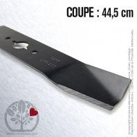 Lame pour Gilson 11818. Coupe 44,5 cm