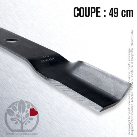 Lame tondeuse. Coupe 49 cm. Murray