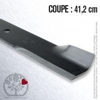 Lame pour Husqvarna, Electrolux 539 10 03 40. Coupe 41,2 cm