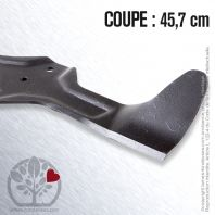 Lame tondeuse. Coupe 45,7 cm. AYP 186387