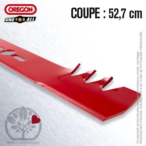 Lame tondeuse. Coupe 52,7 cm. Universelle Orégon. Gator Mulcher™