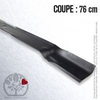 Lame. Coupe 76 cm. Section 70 x 4. Alèsage 21,5.