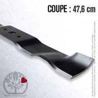 Lame pour Castel Garden 81004366/2. Coupe 47,6 cm