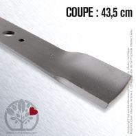 Lame pour Castel Garden 81004365/2. Coupe 43,5 cm
