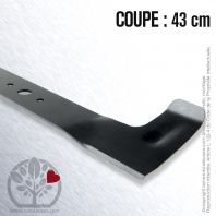 Lame pour CASTEL GARDEN 81004232/2, 43cm