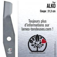 Lame pour Alko 516747,117720,344769,106103. Coupe : 31,3 cm