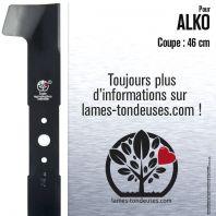 Lame pour Alko 513520, 530979, 344769, 106103. Coupe 46 cm