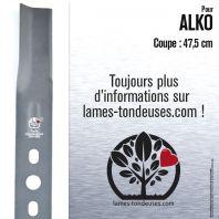 Lame pour Alko 313931, 314282. Coupe 47,5 cm