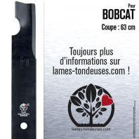 Lame pour Bobcat 42139B. Coupe 63 cm