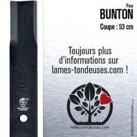 Lame pour Bunton PC005. Coupe 53 cm