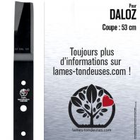 Lame pour Daloz 4353. Coupe 53 cm