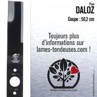 Lame pour Daloz 6397. Coupe 50,2 cm