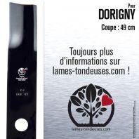 Lame pour Dorigny. Coupe 49 cm