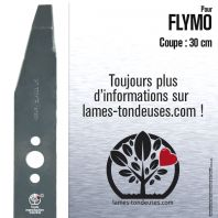 Lame pour Flymo 512643900.51 . 512643900/5 . 512622500. Coupe 30 cm