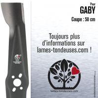 Lame pour Gaby 18000K. Coupe 50 cm