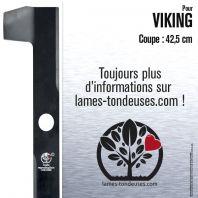 Lame tondeuse. Coupe 42,5 cm. Viking