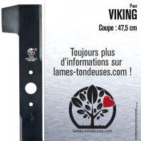 Lame tondeuse. Coupe 47,5 cm. Viking