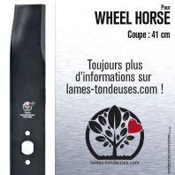 Lame tondeuse. Coupe 41 cm. Wheel Horse. Par 2